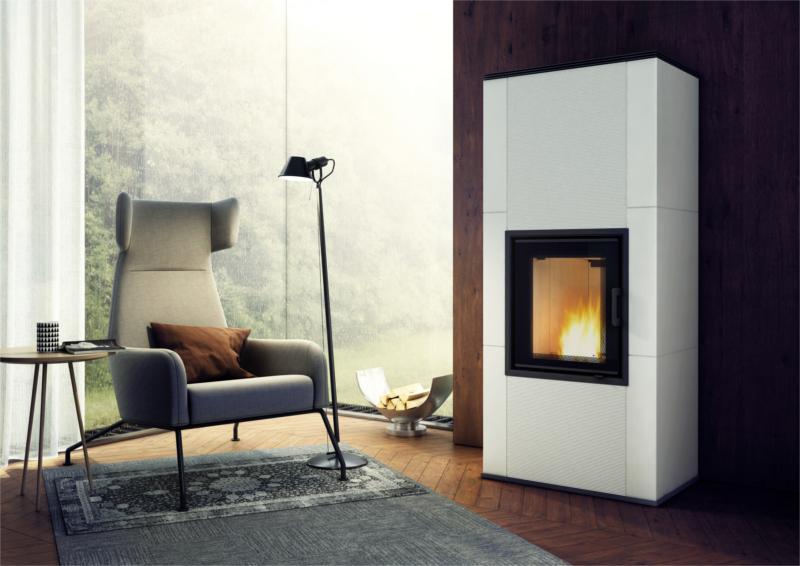 joustav kachel kachelofen kaminofen mit 7 kw. Black Bedroom Furniture Sets. Home Design Ideas