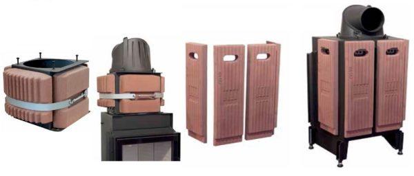 Heat Memory - Speichersystem für Kamineinsätze von Austroflamm