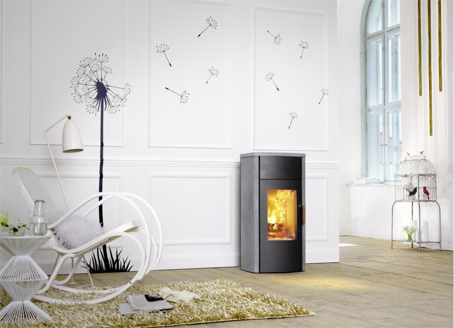austroflamm jini 4 kw kaminofen raumluftunabh ngig dibt. Black Bedroom Furniture Sets. Home Design Ideas