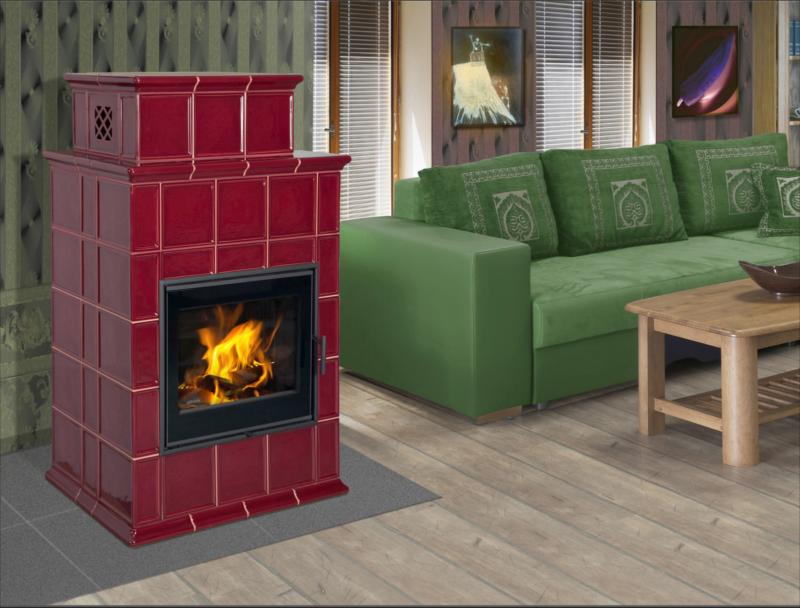 baracca 9 kaminofen kachelofen mit 8 kw. Black Bedroom Furniture Sets. Home Design Ideas