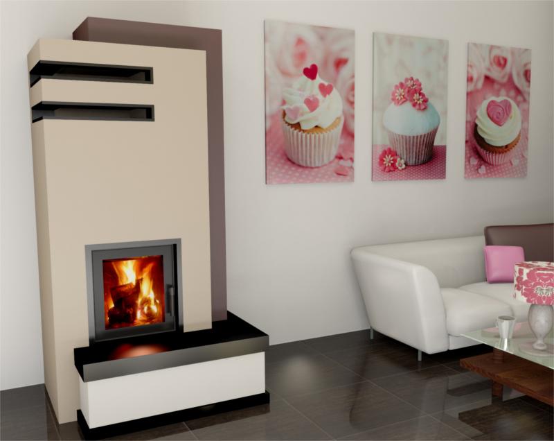 hajduk kamineinsatz smart 1vth 7 5 kw preiswert kaufen. Black Bedroom Furniture Sets. Home Design Ideas