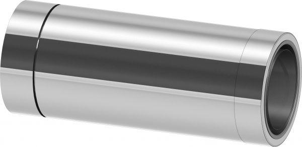 Längenelement, 500 mm lang kürzbar+Wandfutter