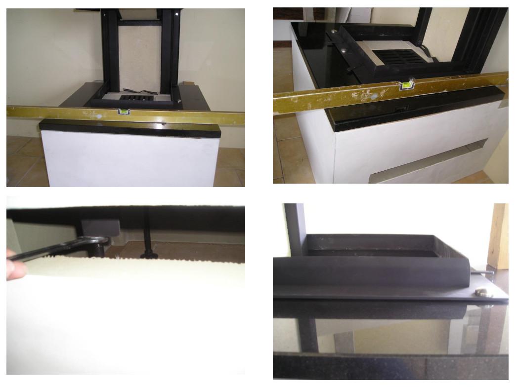 Montage des Steinelements für den Feuertisch HAHDUK Kaminbausatz