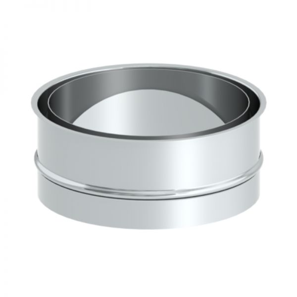 Doppelwandfutter für Ofenrohr Ø120 mm