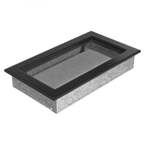Luftgitter 17x30 cm schwarz