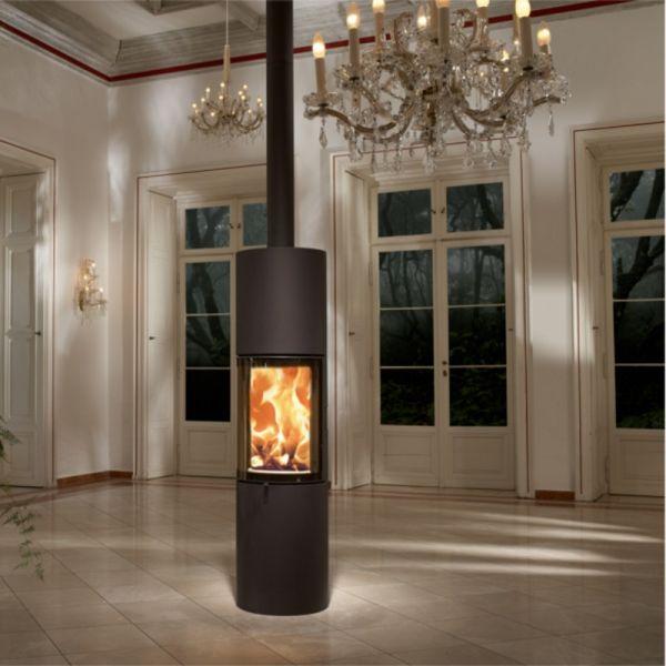 austroflamm stila 5 kw stahl nougat kaminofen raumluftunabh ngig dibt. Black Bedroom Furniture Sets. Home Design Ideas