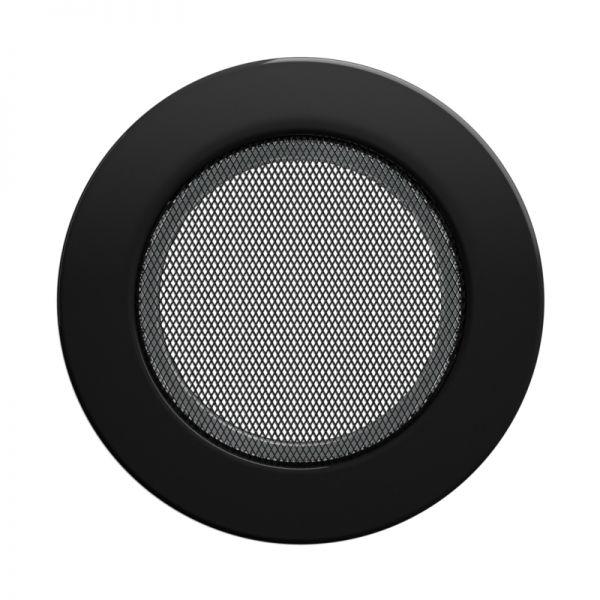 Luftgitter Ø173 mm schwarz
