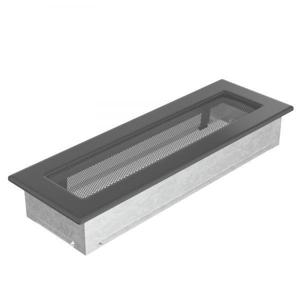Luftgitter 11x32 cm graphit