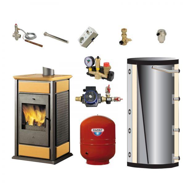 Komplett-Set Warm/CS Keramik bernstein 14 kW