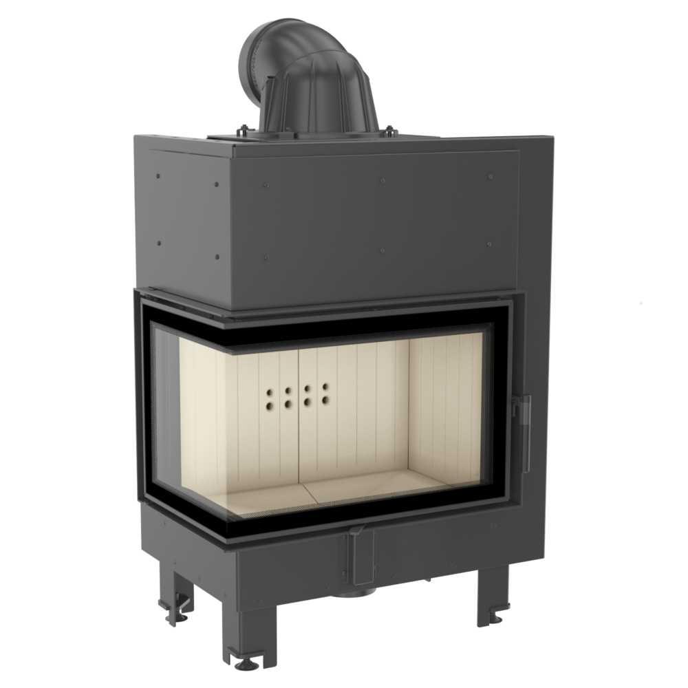 kamineinsatz heizeinsatz eckkamin wasserlos joustav mbm 10. Black Bedroom Furniture Sets. Home Design Ideas