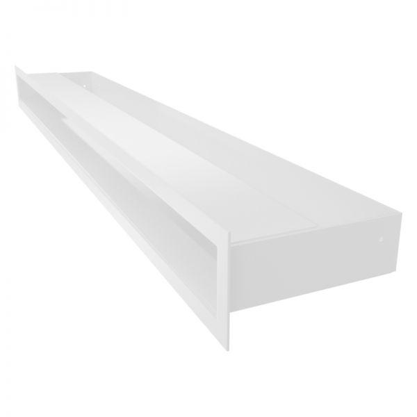 Lüftungsgitter LUFT weiß 800 x 60 mm