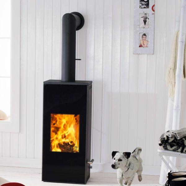 austroflamm mono 4 kw stahl kaminofen raumluftunabh ngig. Black Bedroom Furniture Sets. Home Design Ideas