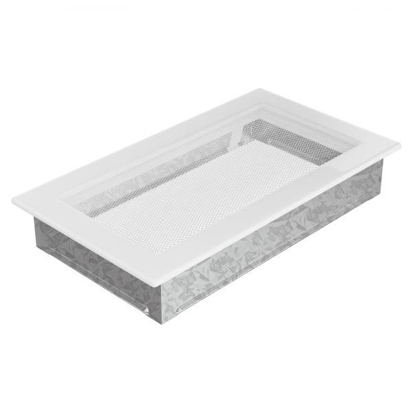 Luftgitter 17x30 cm weiß