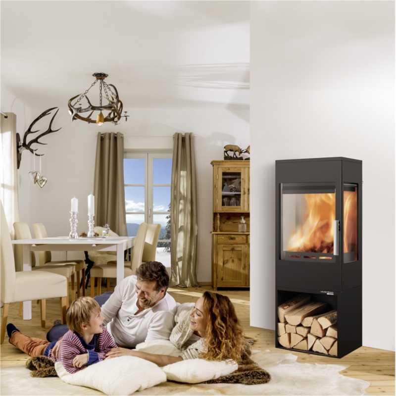 kaminofen bis 8 kw online kaufen. Black Bedroom Furniture Sets. Home Design Ideas
