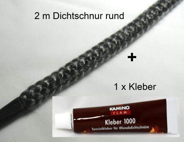 Kamindichtschnur mit Kleber