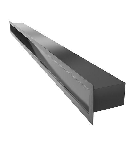 Lüftungsgitter TUNEL schwarz 1000 x 60 mm
