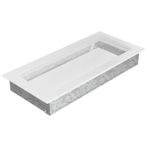 Luftgitter 17x37 cm weiß
