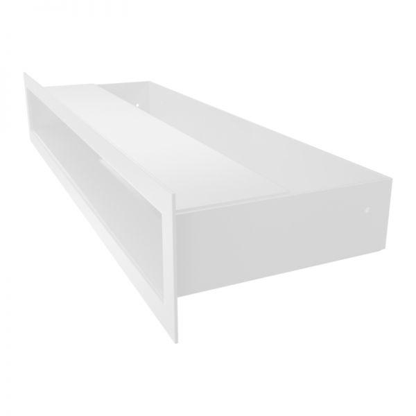 Lüftungsgitter LUFT weiß 400 x 60 mm