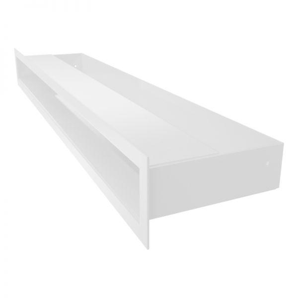 Lüftungsgitter LUFT weiß 600 x 60 mm