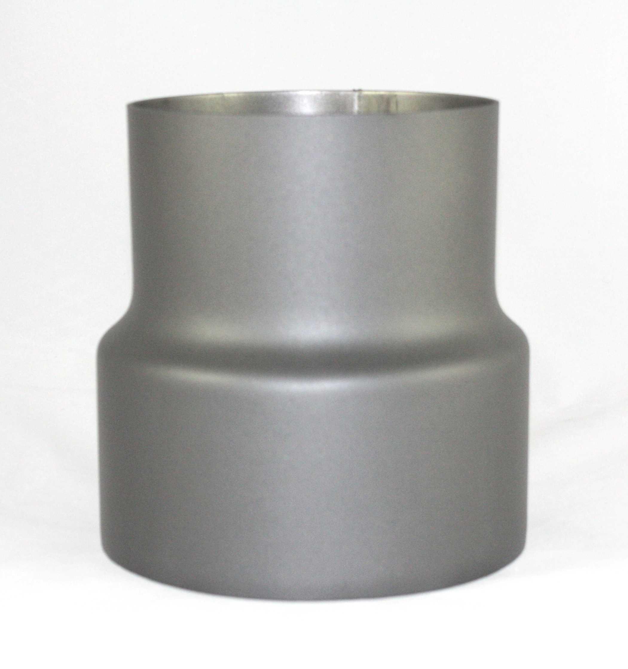 reduzierung 150 120 mm reduzierung ofenrohr gussgrau kaminzubeh r. Black Bedroom Furniture Sets. Home Design Ideas