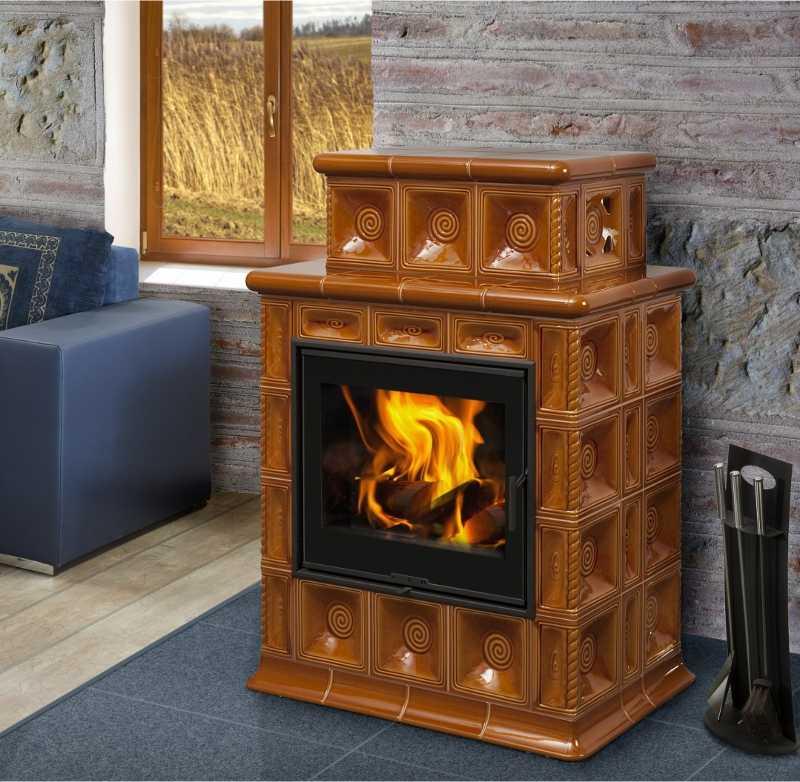 baracca 4 kaminofen kachelofen mit 8 kw. Black Bedroom Furniture Sets. Home Design Ideas