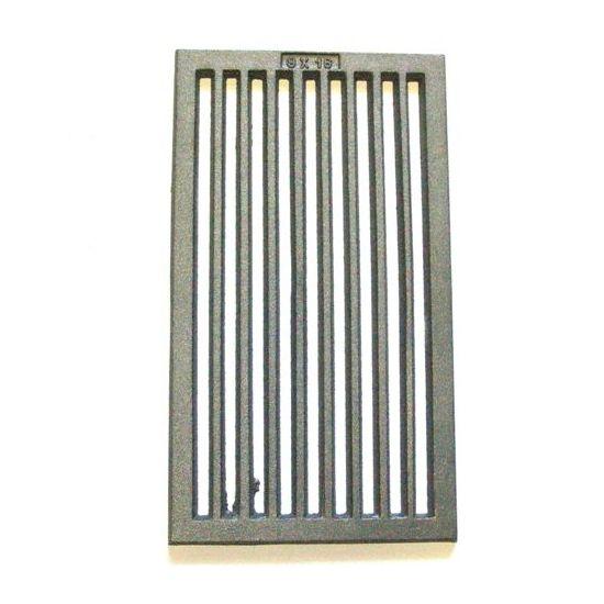 Tafelrost 236 x 418 mm