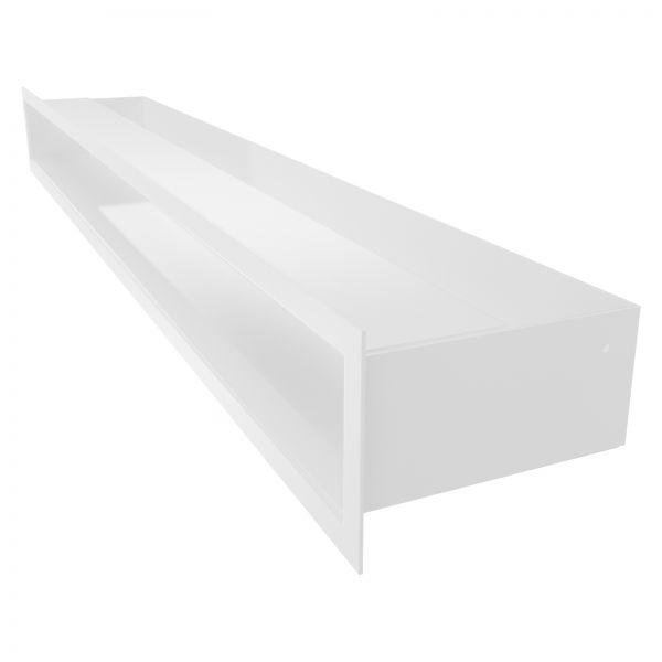 Luftleiste weiß pulverbeschichtet