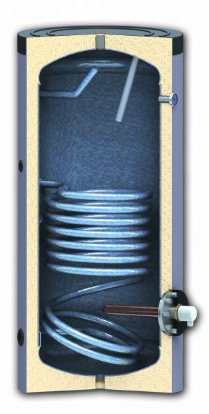 Trinkwasserspeicher 200 Liter mit 1x Wärmetauscher