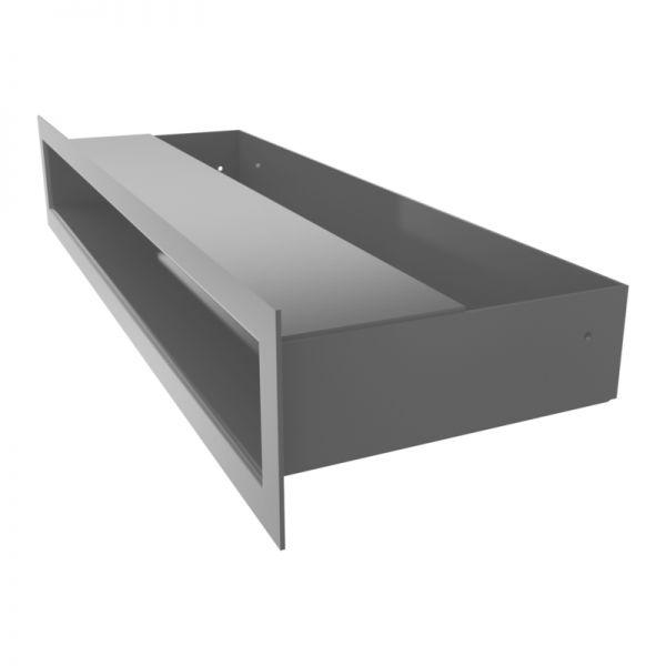 Lüftungsgitter LUFT graphit 400 x 60 mm