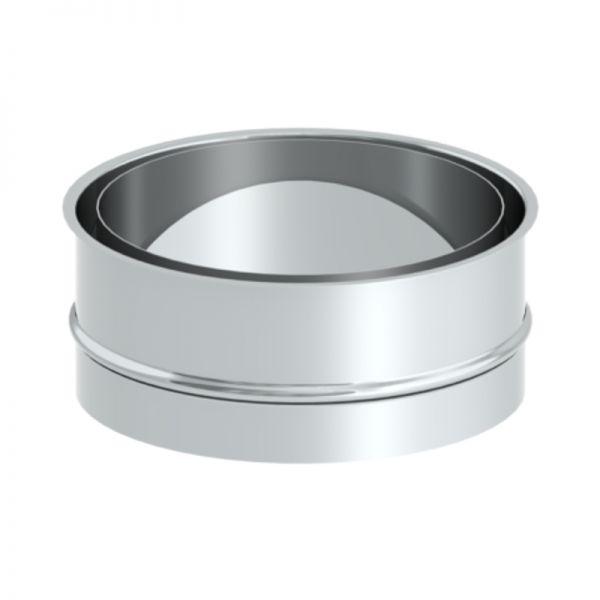 Doppelwandfutter für Ofenrohr Ø180 mm