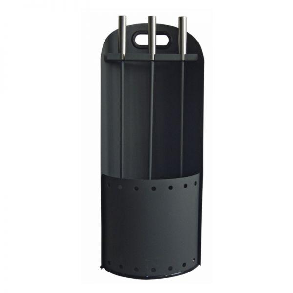 Kaminbesteck schwarz TermaTech