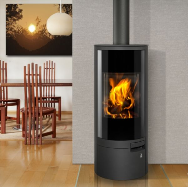 belorado kaminofen mit 5 9 kw. Black Bedroom Furniture Sets. Home Design Ideas