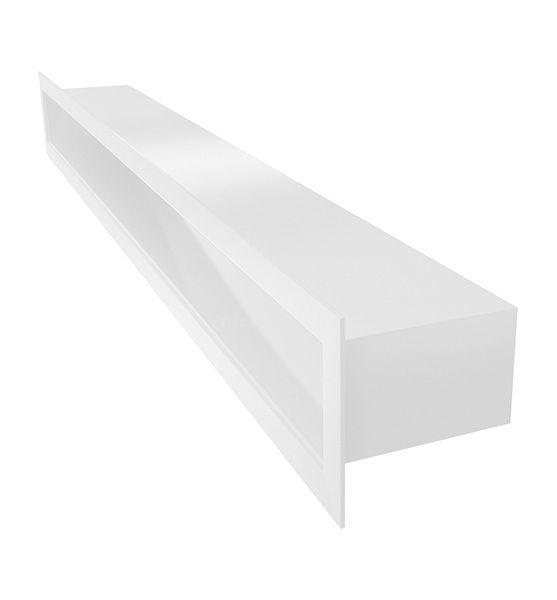 Lüftungsgitter TUNEL weiß 600 x 60 mm